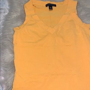 Canary yellow tank